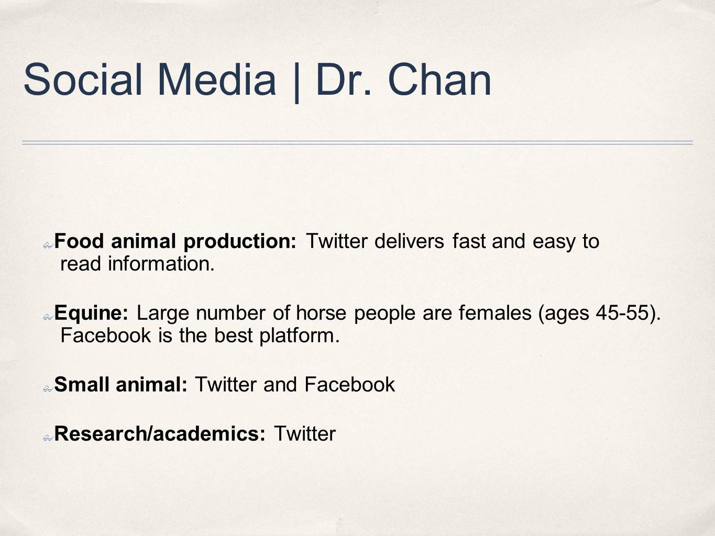 Social Media | Dr.Creelman ✤ Q. What works.