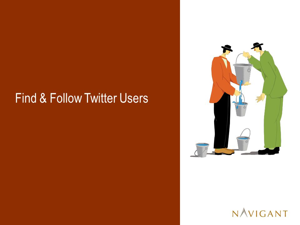 Find & Follow Twitter Users