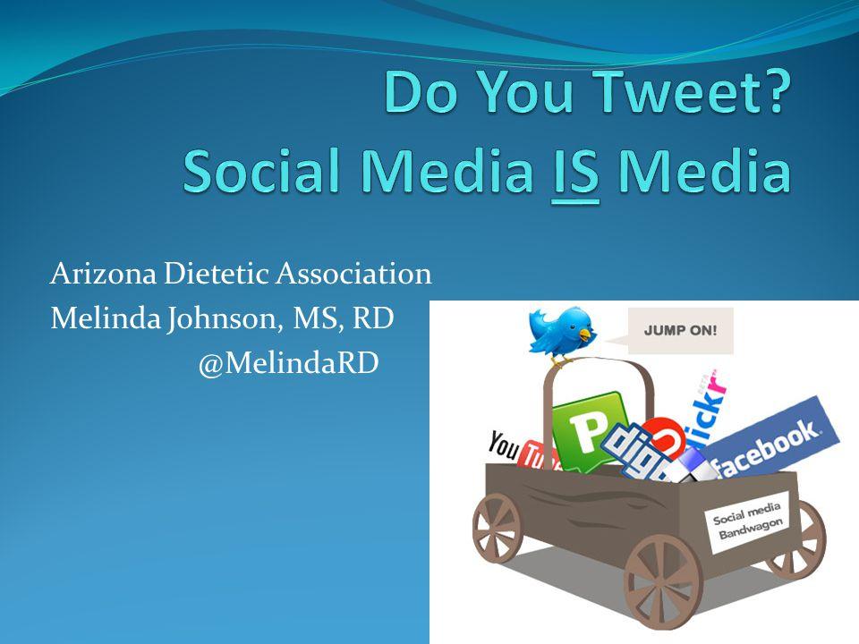 Tweet You Later! @MelindaRD
