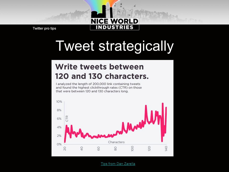 Tweet strategically Twitter pro tips Tips from Dan Zarella