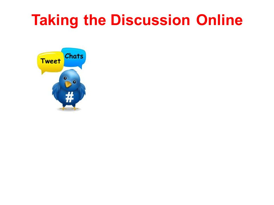 Taking the Discussion Online