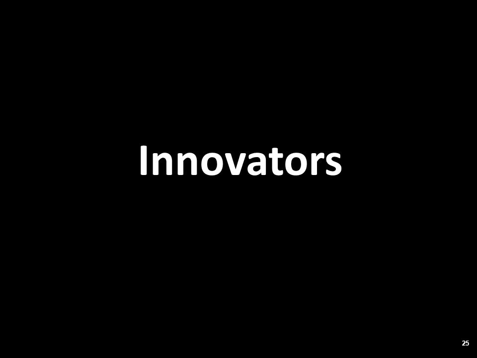 Innovators 25