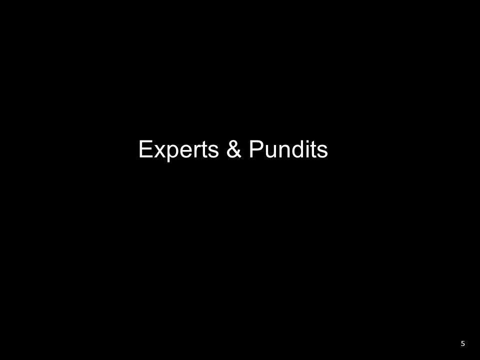 Experts & Pundits 5