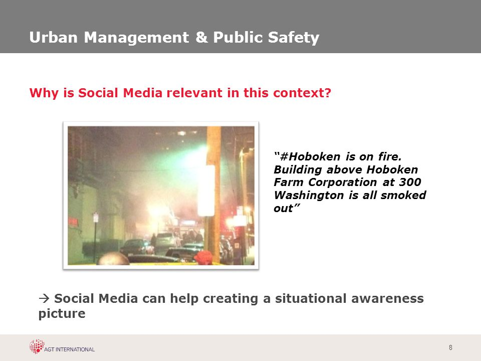 9 detect, classify and display events to operator accidents, fires, violence, demonstrations, violence 1.