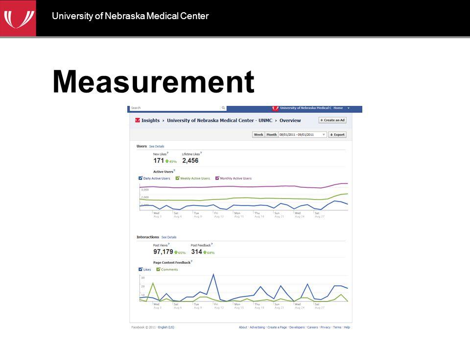 Measurement University of Nebraska Medical Center