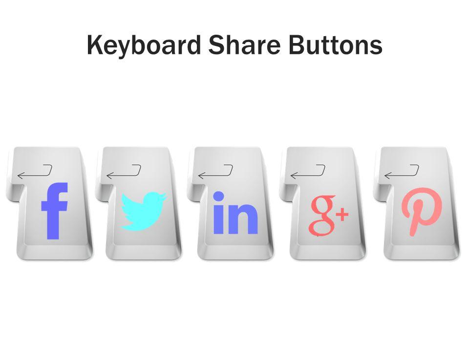 Keyboard Share Buttons