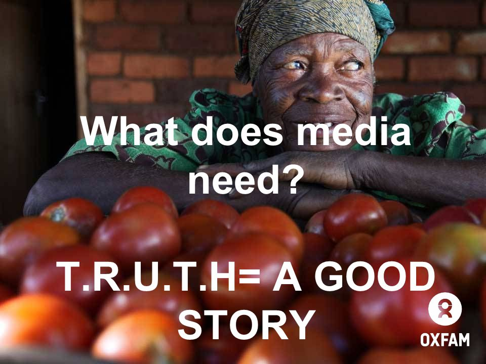 ... And as well as deciding how you need to use it, you also need a story!