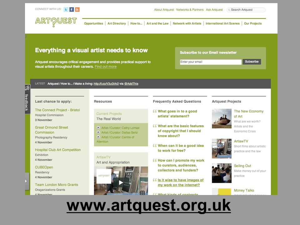 www.artquest.org.uk