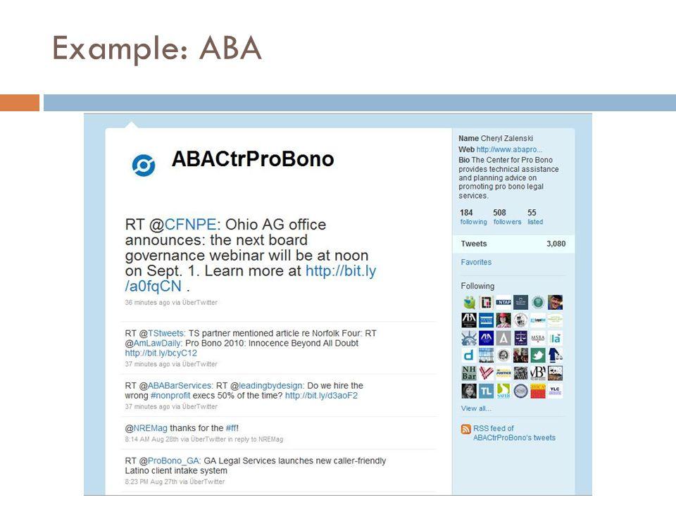 Example: ABA