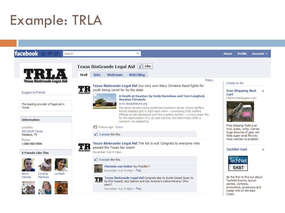 Example: TRLA