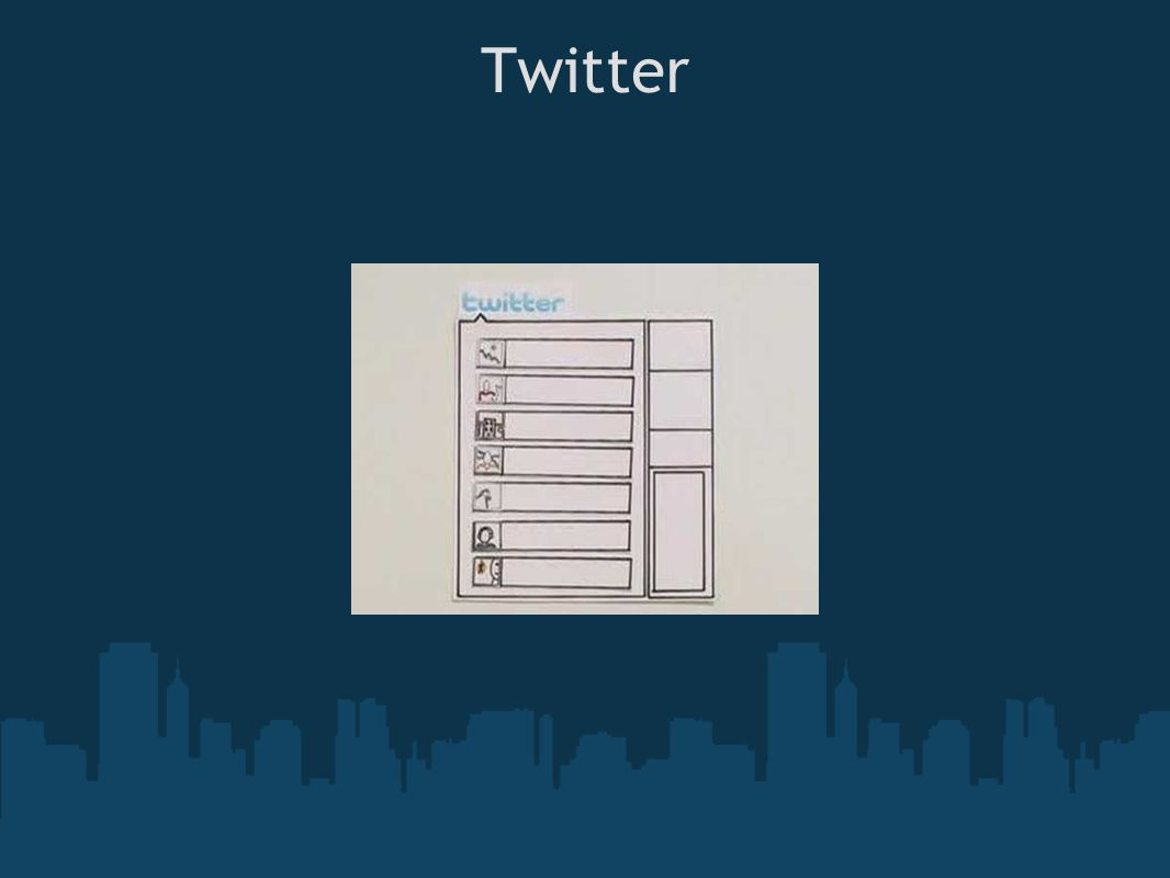 Twitter Terminology Tweet: an individual post RT (Retweet): re-telling a tweet @username: open message to a specific person (@ = address) Message: message to a follower #Hashtag: Use to group and track discussions (conference, seminar, class activity, etc.) The hashtag is helpful when you are at a conference-people will be posting about sessions, freebies, resources, etc.