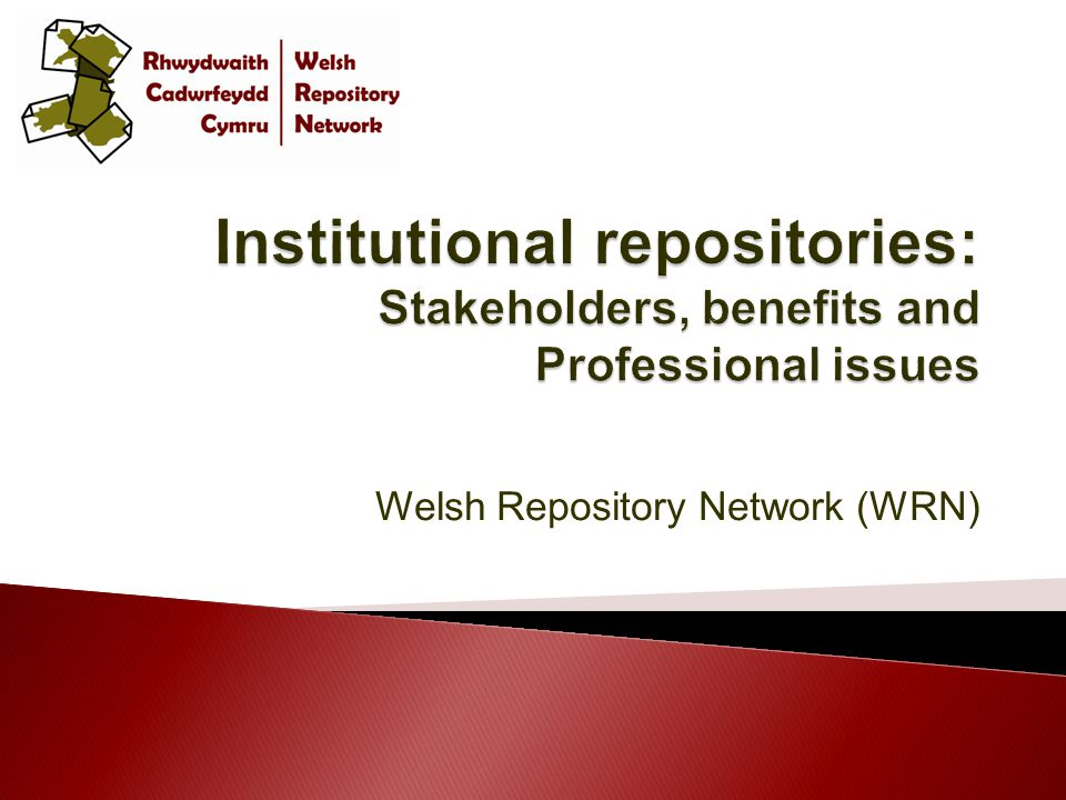 Welsh Repository Network (WRN)