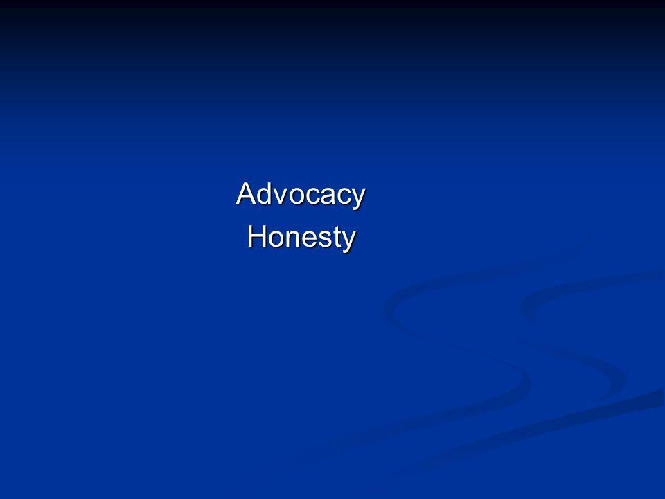 AdvocacyHonesty