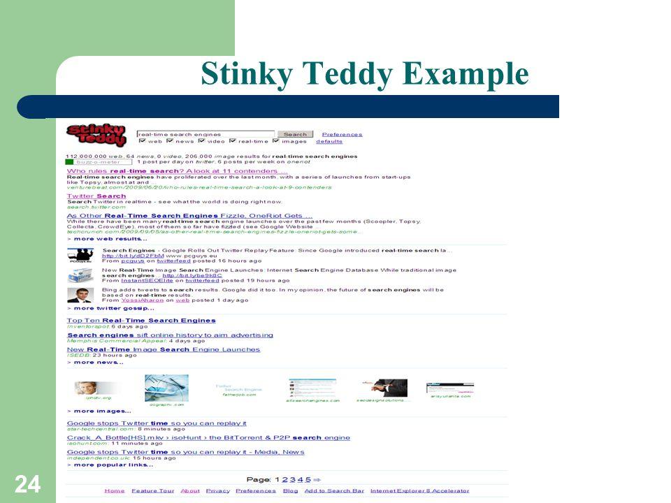 24 Stinky Teddy Example