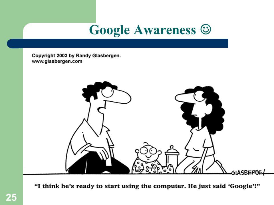 25 Google Awareness