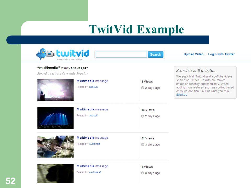 52 TwitVid Example
