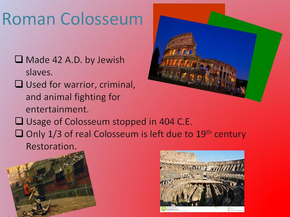 Colosseum - Jillian