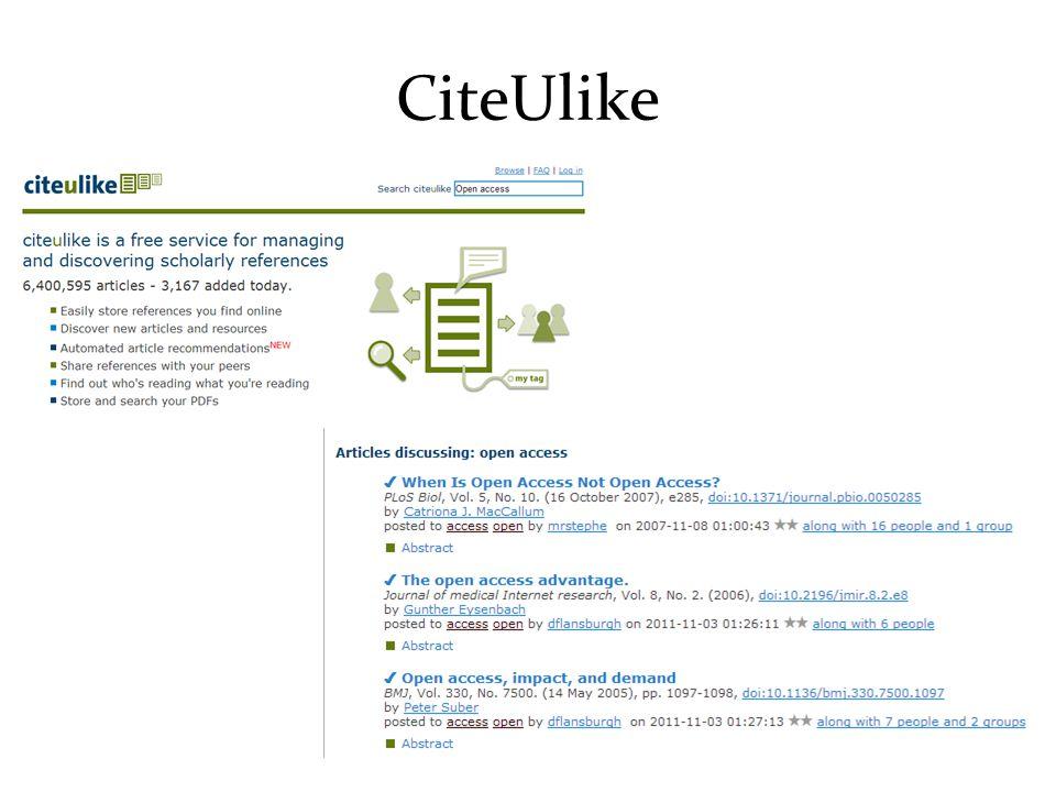 CiteUlike