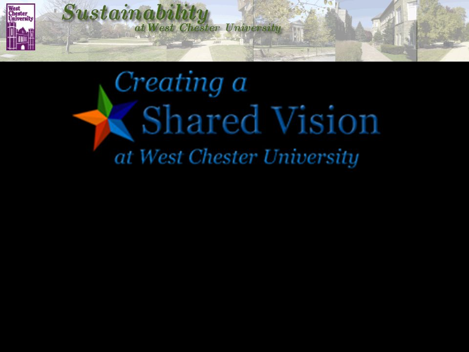 "WCU Strategic Planning Process WCU Strategic Planning Committee ""Sustainability"" one of 5 Themes"
