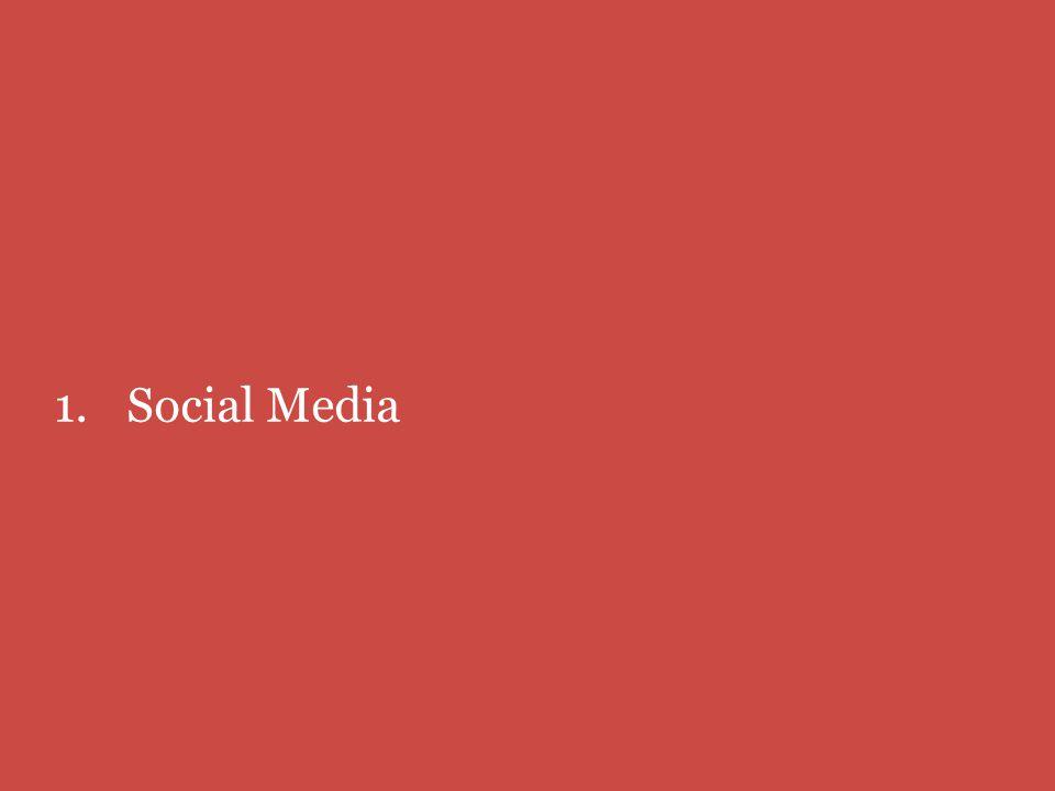 1.Social Media