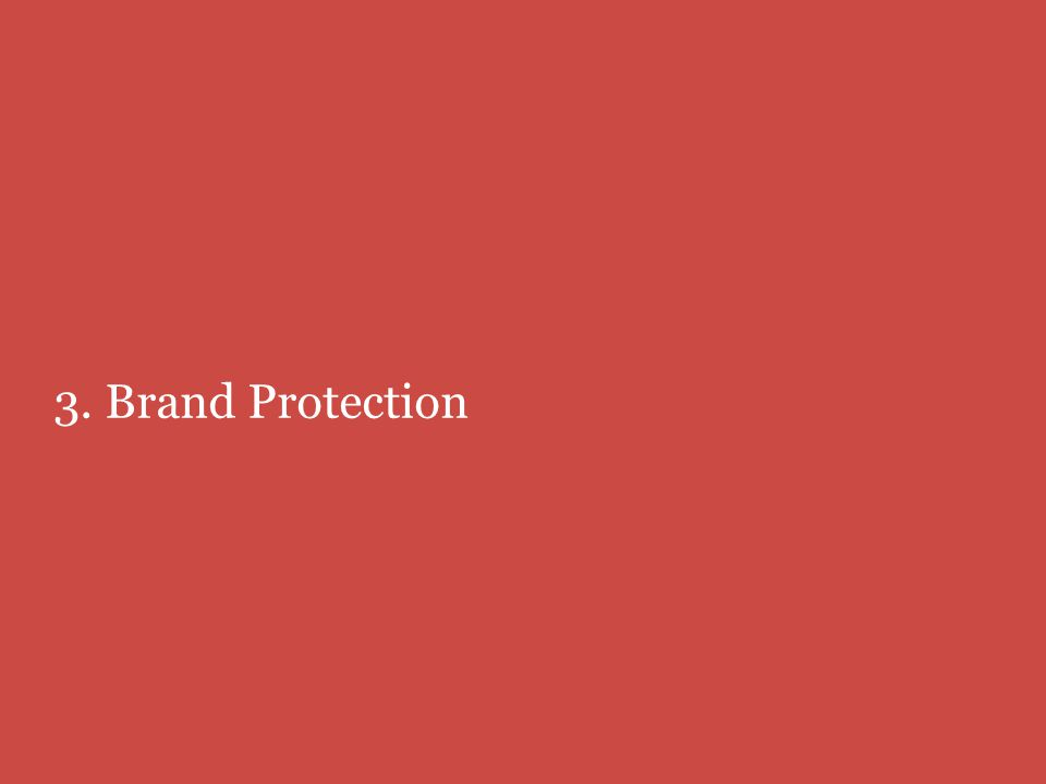3. Brand Protection