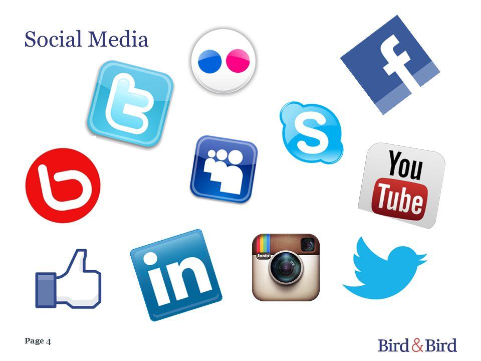 Page 4 Social Media