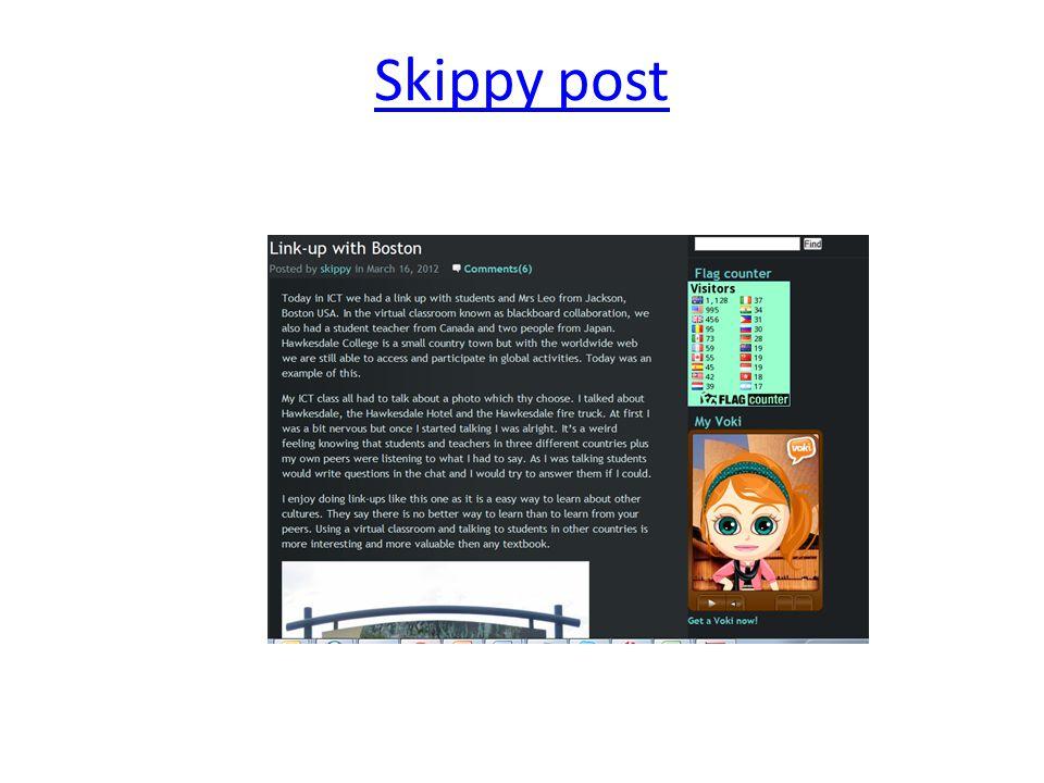 Skippy post
