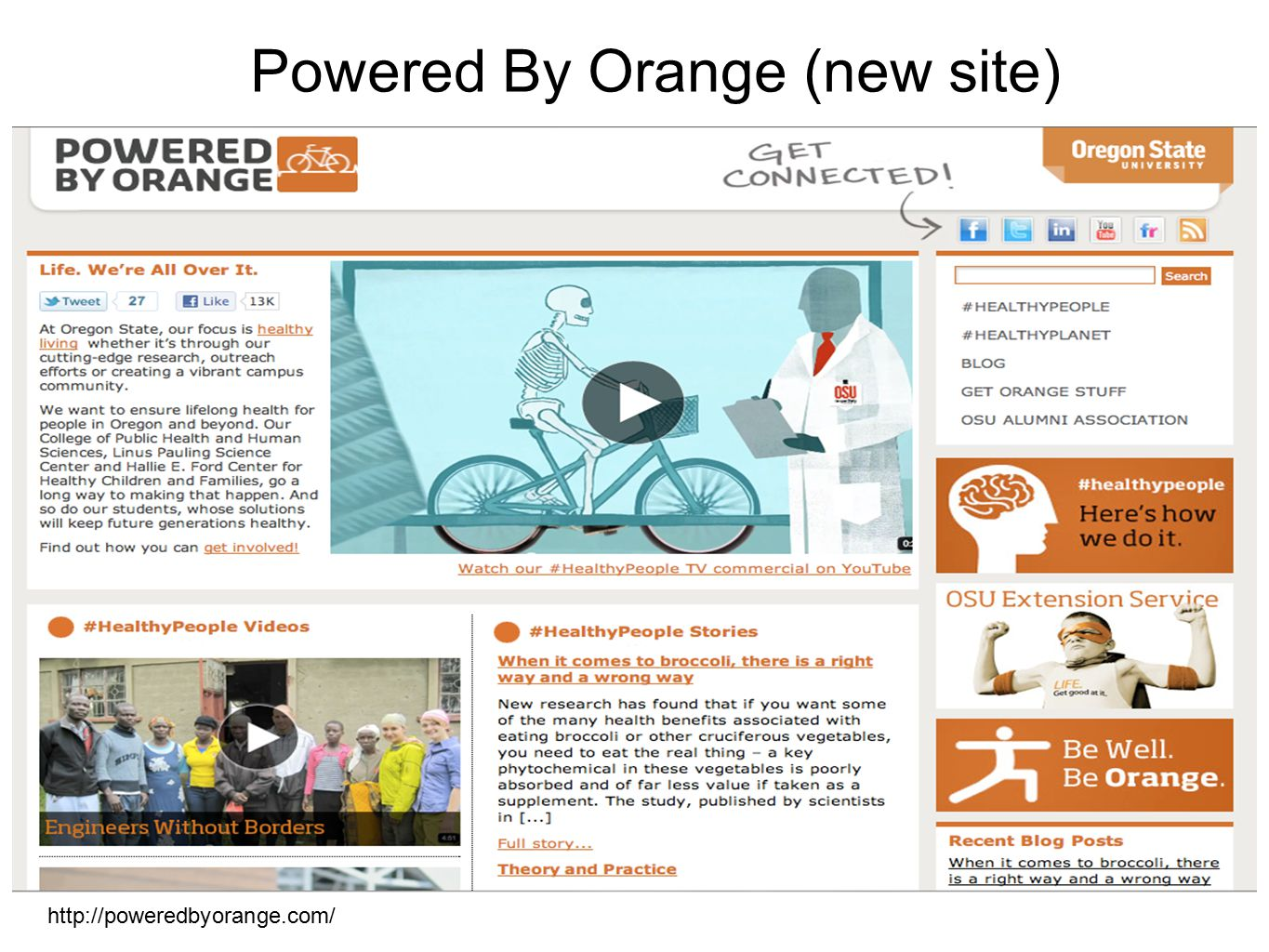 Powered By Orange (new site) http://poweredbyorange.com/
