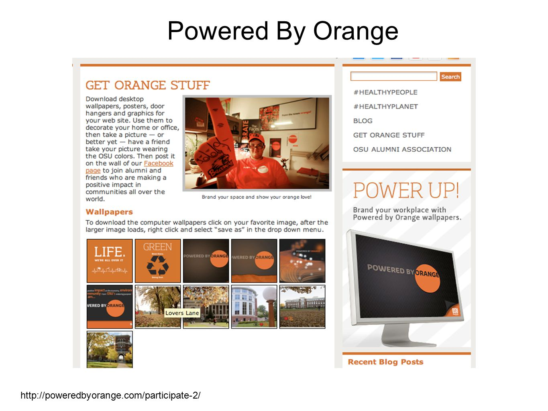 Powered By Orange http://poweredbyorange.com/participate-2/