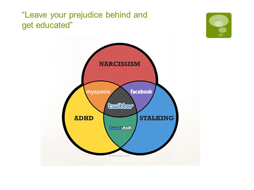 Leave your prejudice behind and get educated