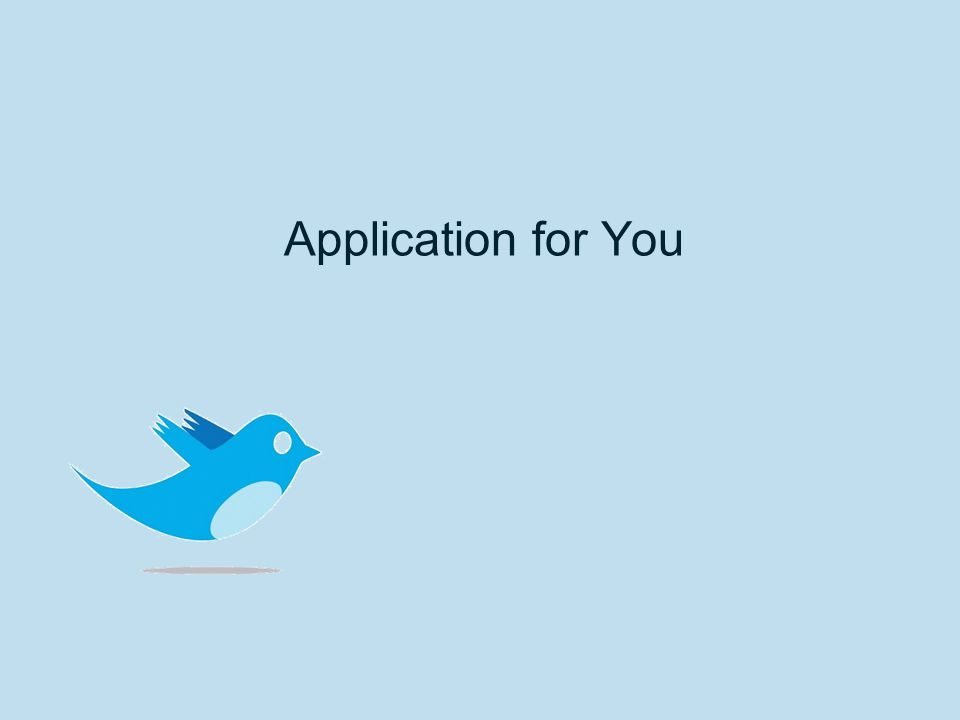 Application for You