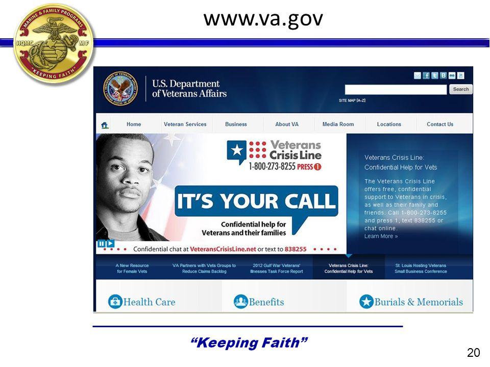 www.va.gov 20