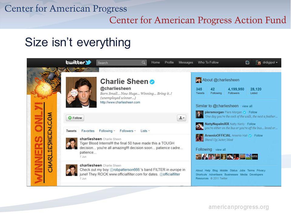 americanprogress.org Size isn't everything