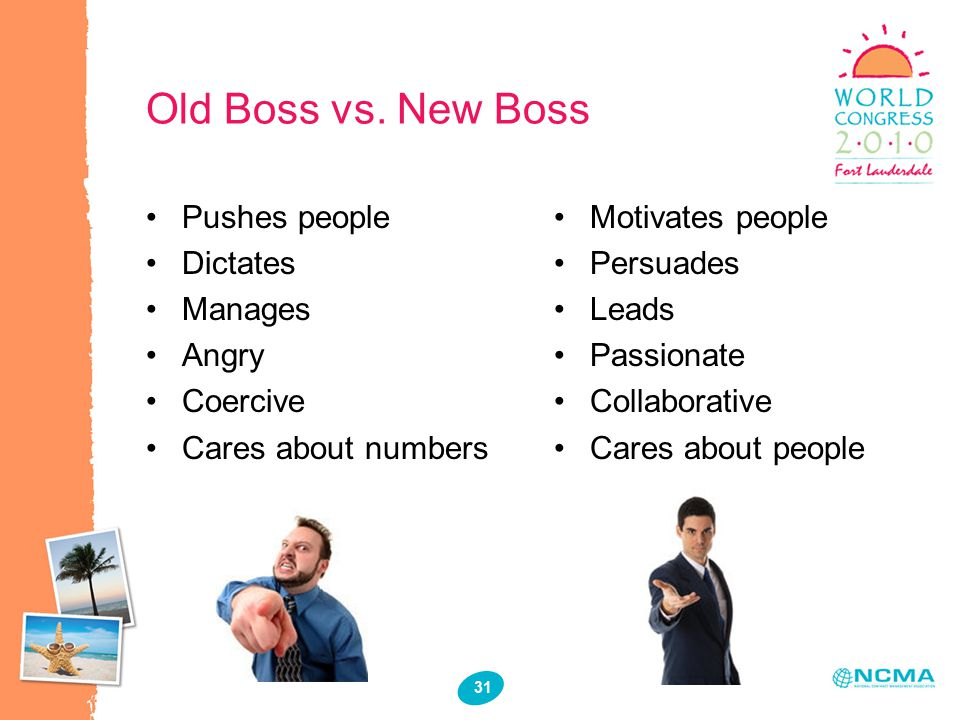 31 Old Boss vs.