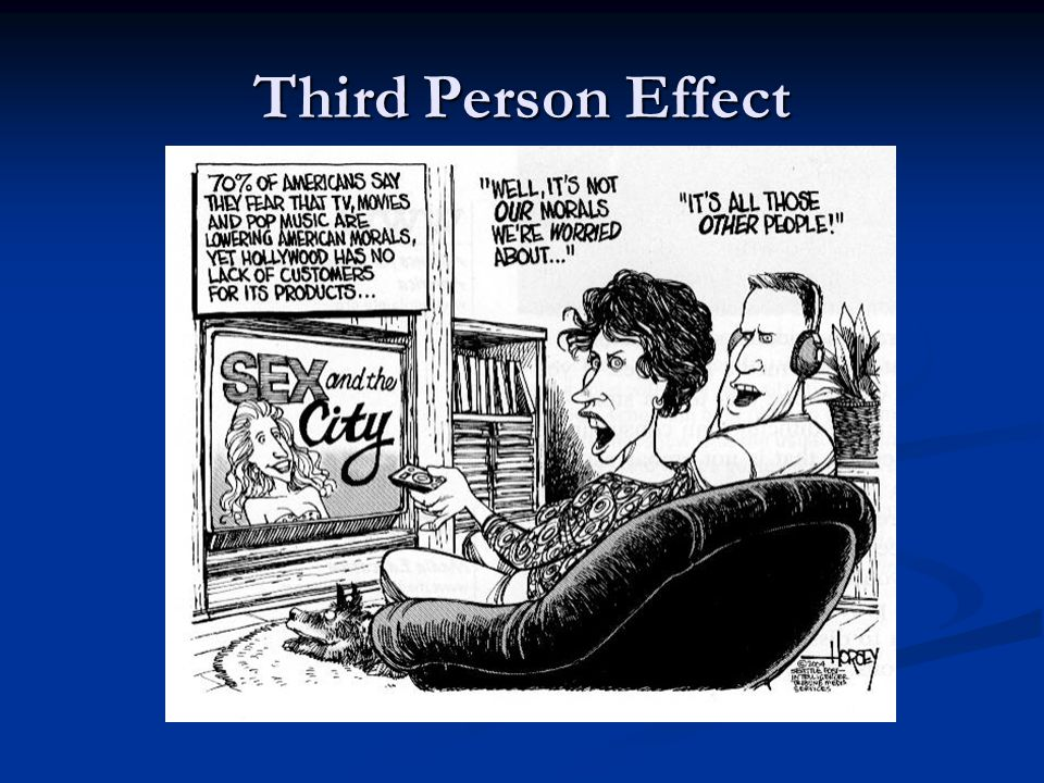 Third Person Effect