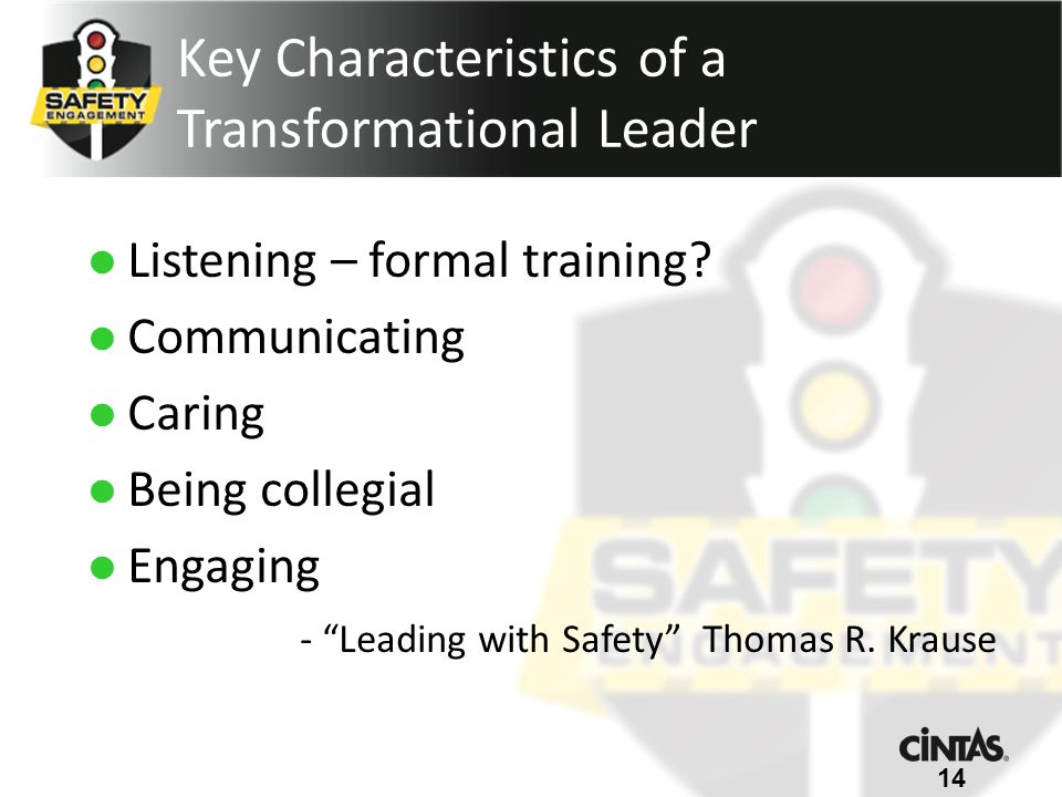 Listening – formal training.