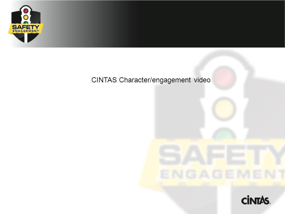 CINTAS Character/engagement video