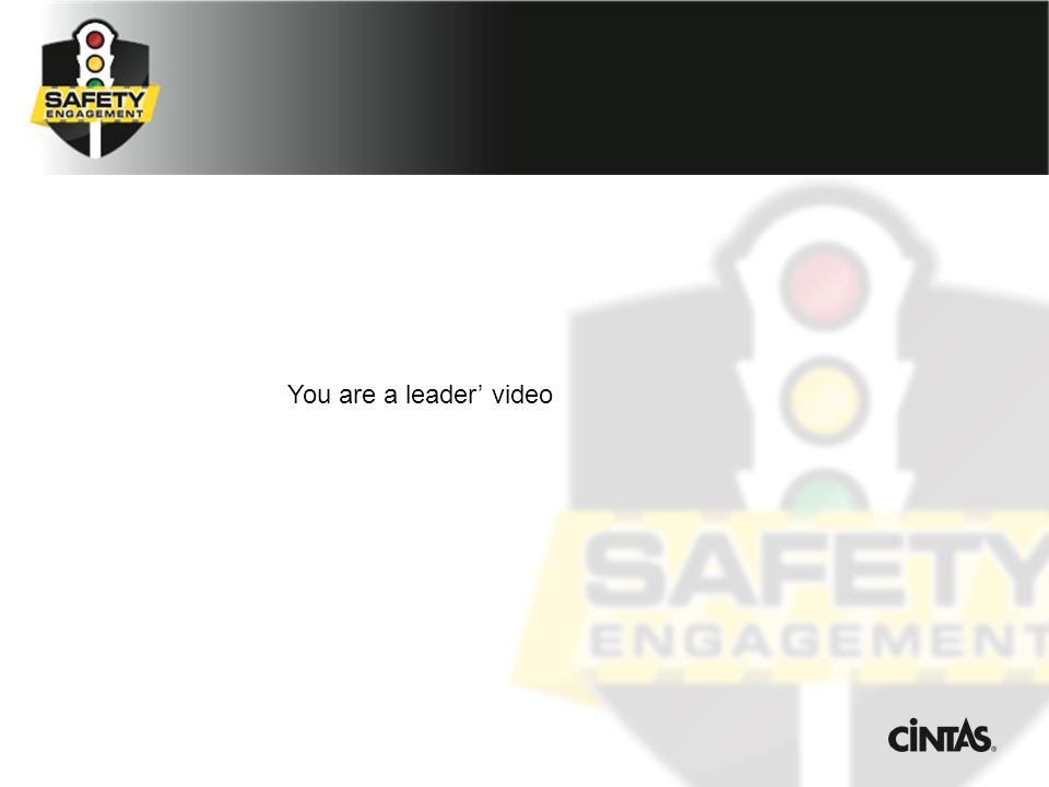 You are a leader' video