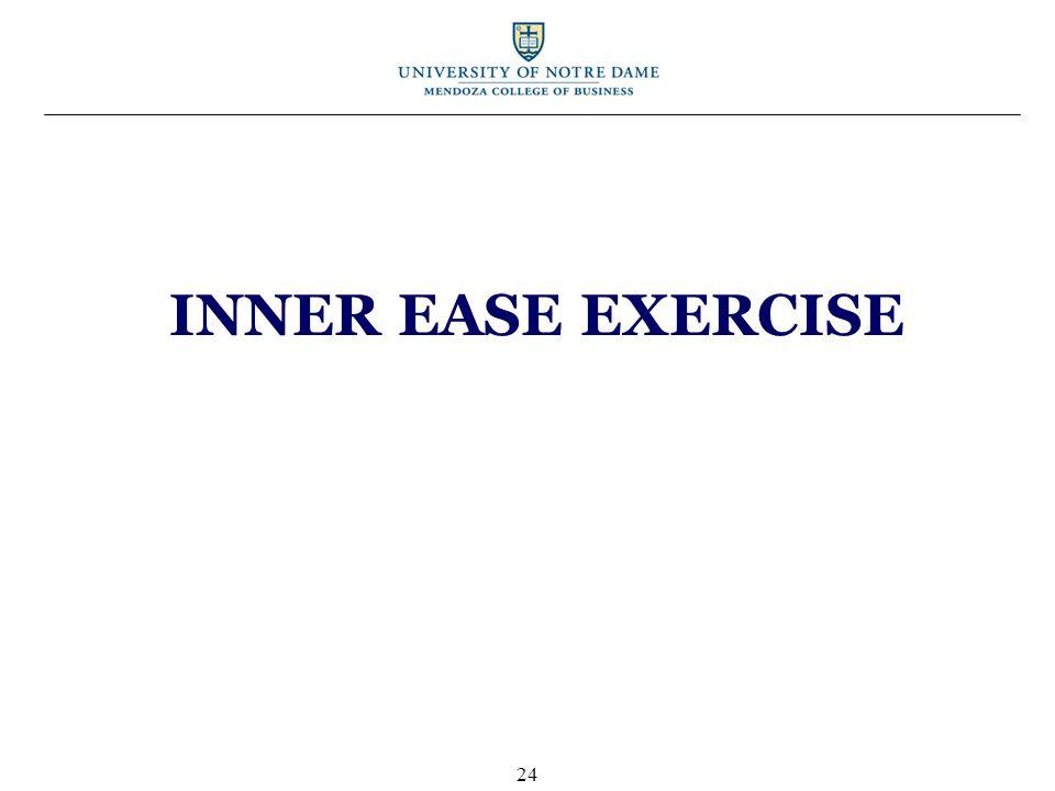 INNER EASE EXERCISE 24