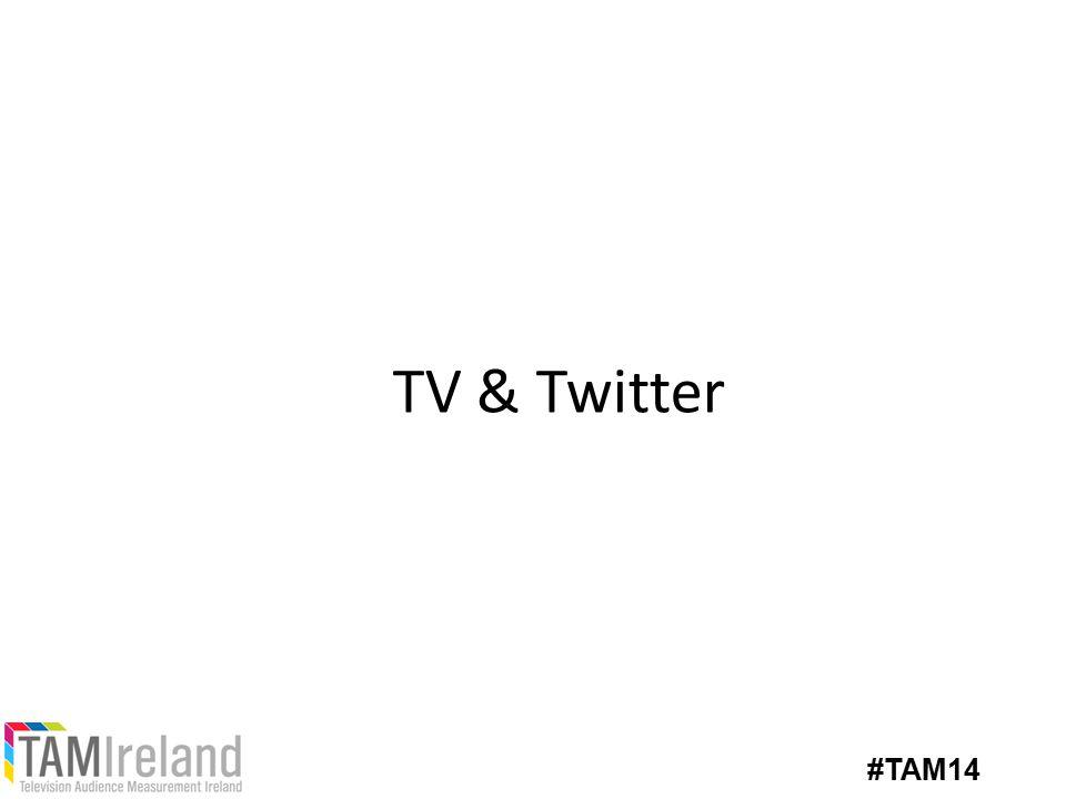 TV & Twitter #TAM14