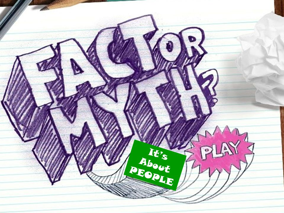 MYTH ONE PERSON IS HIGHLY ORGANIZED! ONE PERSON IS HIGHLY CREATIVE!