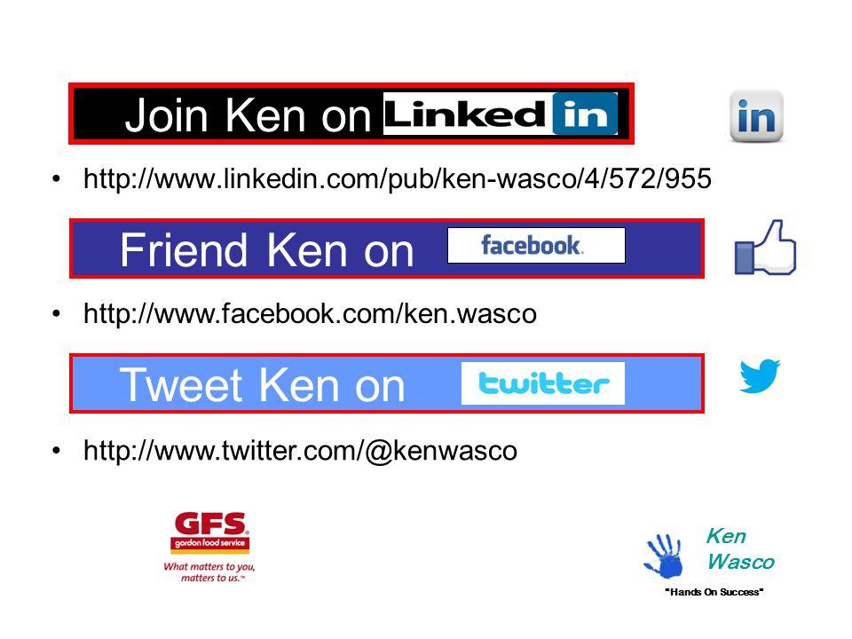 Join Ken on Linkedin http://www.linkedin.com/pub/ken-wasco/4/572/955 Friend Ken on http://www.facebook.com/ken.wasco Ken Wasco Tweet Ken on http://www