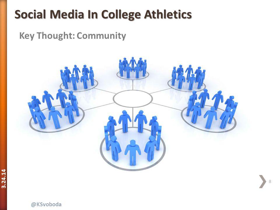 3.24.14 39 @KSvoboda Social Media In College Athletics