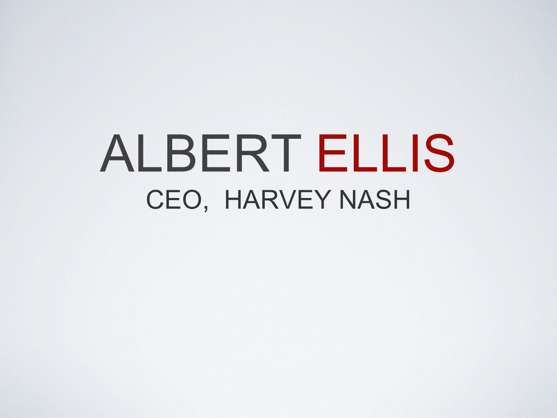 ALBERT ELLIS CEO, HARVEY NASH