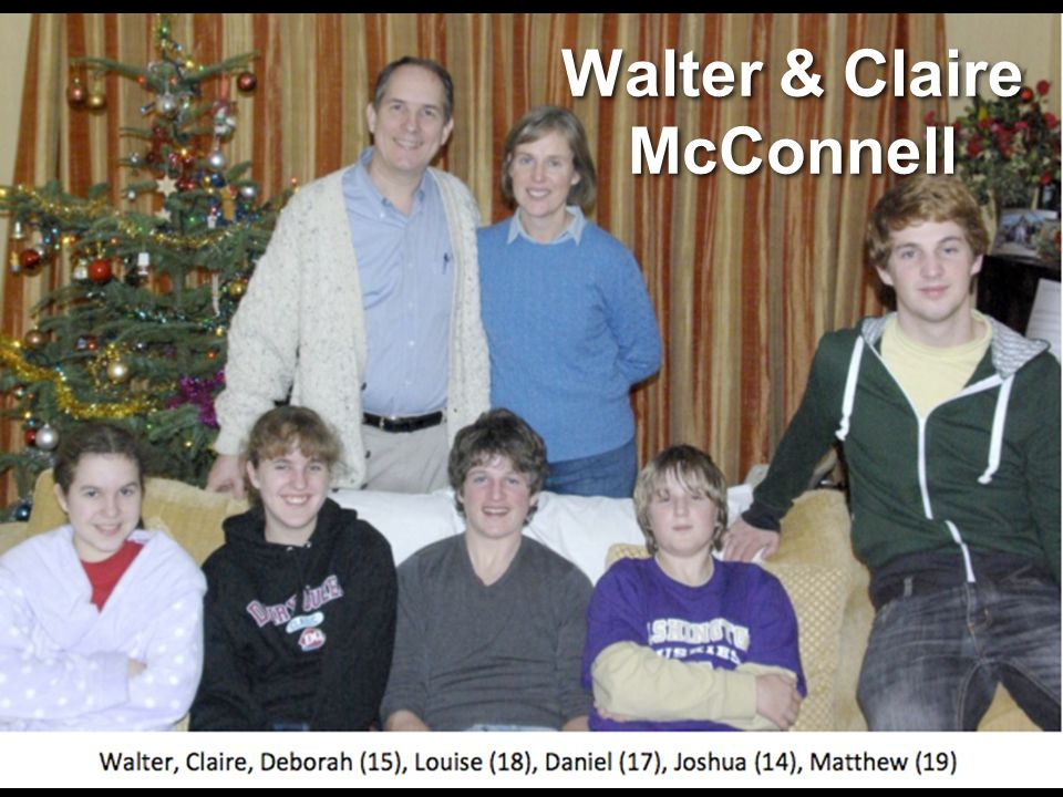 Walter & Claire McConnell