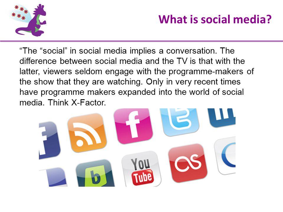 The social in social media implies a conversation.