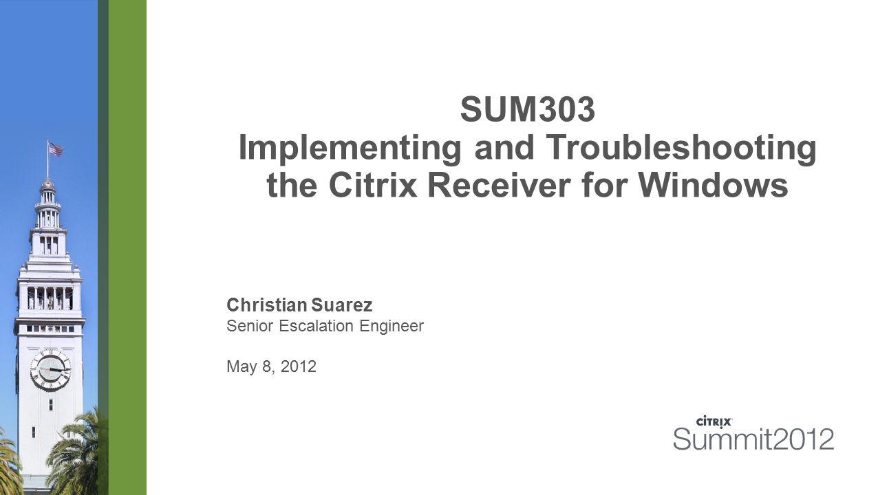 #CitrixSummit Configuring Merchandising Server 12