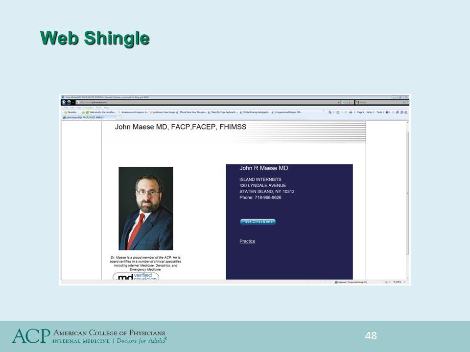Web Shingle 48