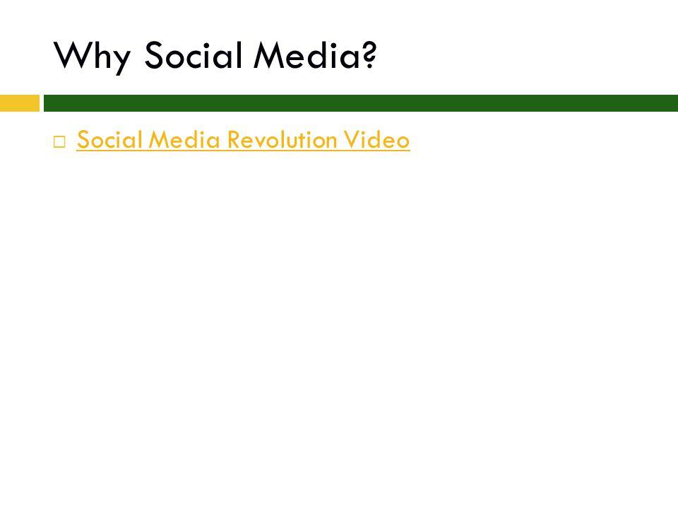 Why Social Media  Social Media Revolution Video Social Media Revolution Video