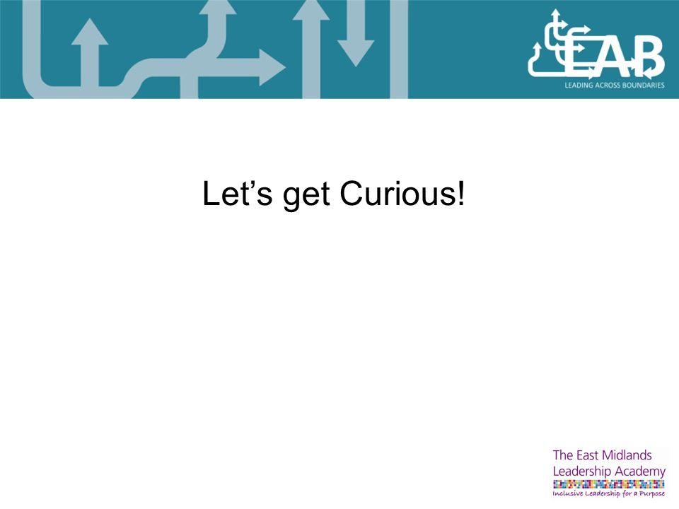 Let's get Curious!